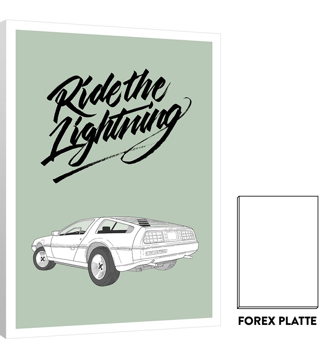 cars serie delorean forex matthias rendl illustration shop. Black Bedroom Furniture Sets. Home Design Ideas
