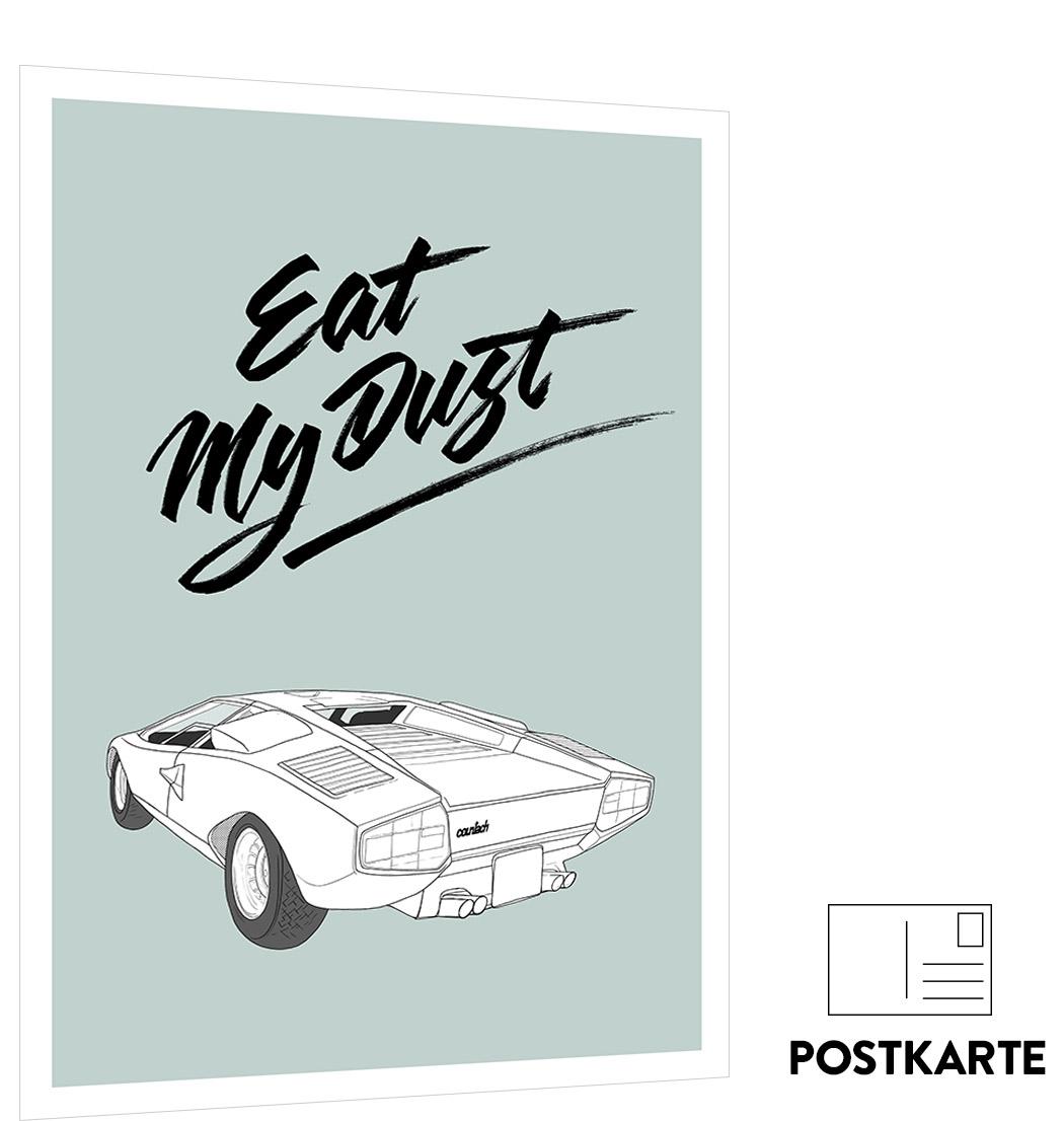 cars serie lamborghini postkarte matthias rendl illustration shop. Black Bedroom Furniture Sets. Home Design Ideas